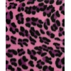Fake Fur Pink Cheetah Winter Coat