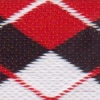 Argyle - Red and Black 1.5 inch