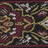 Needlepoint (Burgundy and Cream) 1.5 inch