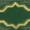 Gold Diamonds (Smaller Pattern) on Green 1.5 inch