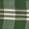 Plaid Green and White 1.5 inch