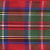 Plaid Red Blue and Green 1.5 inch