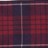 Plaid Red and Blue 1.5 inch