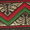 Red and Green Zags 1 inch