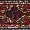 Red and Green Tapestry 3/4 inch