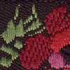 Red Roses on Black Tapestry 3/4 inch