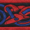 Celtic Hounds (Red and Blue) 2 inch