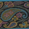 Tapestry Paisley - Blue 2 inch