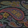 Tapestry Paisley - Pink 2 inch