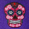 Sugar Skulls (purple) 1.5 inch